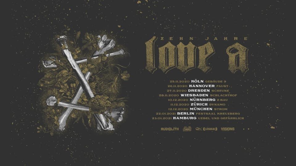 10 Jahre Love A - Tour