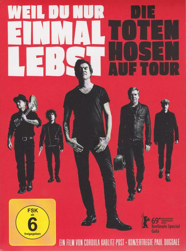 Die Toten Hosen - Weil Du Nur Einmal Lebst (DVD - JKP - 2019)
