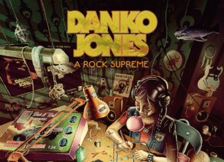 Danko Jones - A Rock Supreme (CD/LP - AFM Records - 2019)