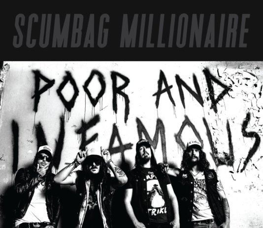 Scumbag Millionaire - Poor And Infamous (CD/LP - Suburban Records - 2020)