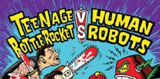 Split Teenage Bottlerocket / Human Robots (Cover by Chris Shary)