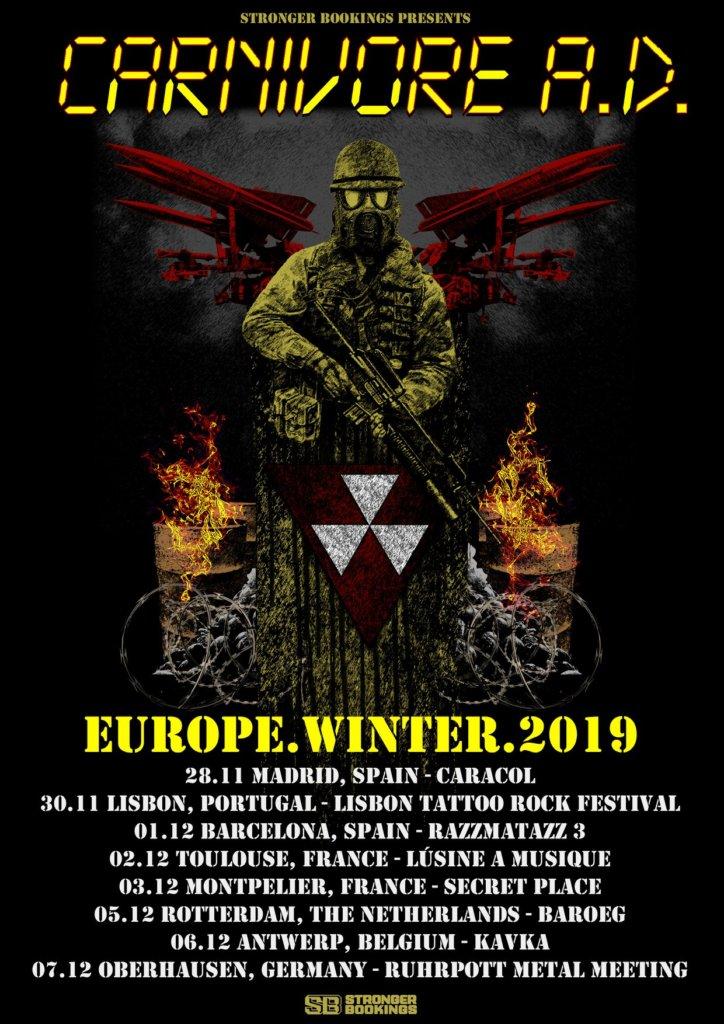 Carnivore A.D. - Europa-Tour 2019