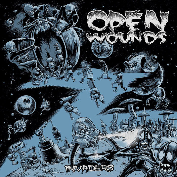 Open Wounds - Invaders (2018)