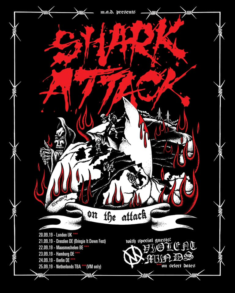 Shark Attack - Europa-Tour 2019