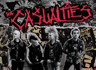 The Casualties - Until Death (Best-Of, Cover Front)