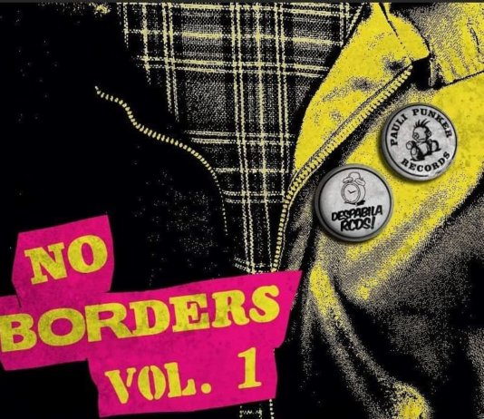 Sampler: No Borders Vol. 1 (Cover, 2020)