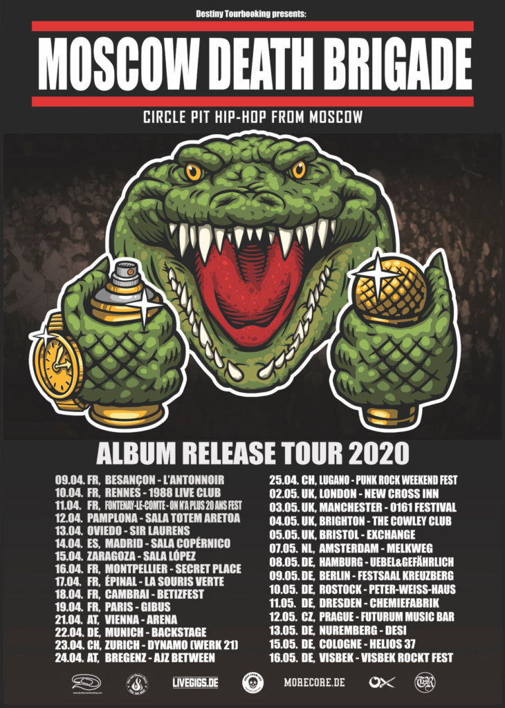 Moscow Death Brigade - Release-Tour 2020