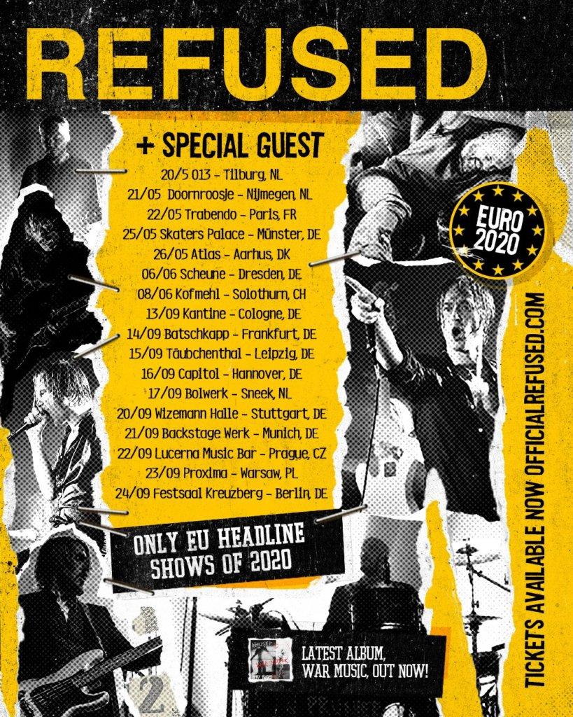 Refused - Tour 2020