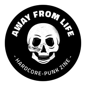 AWAY FROM LIFE Hardcore-Punk Zine Magazin Logo