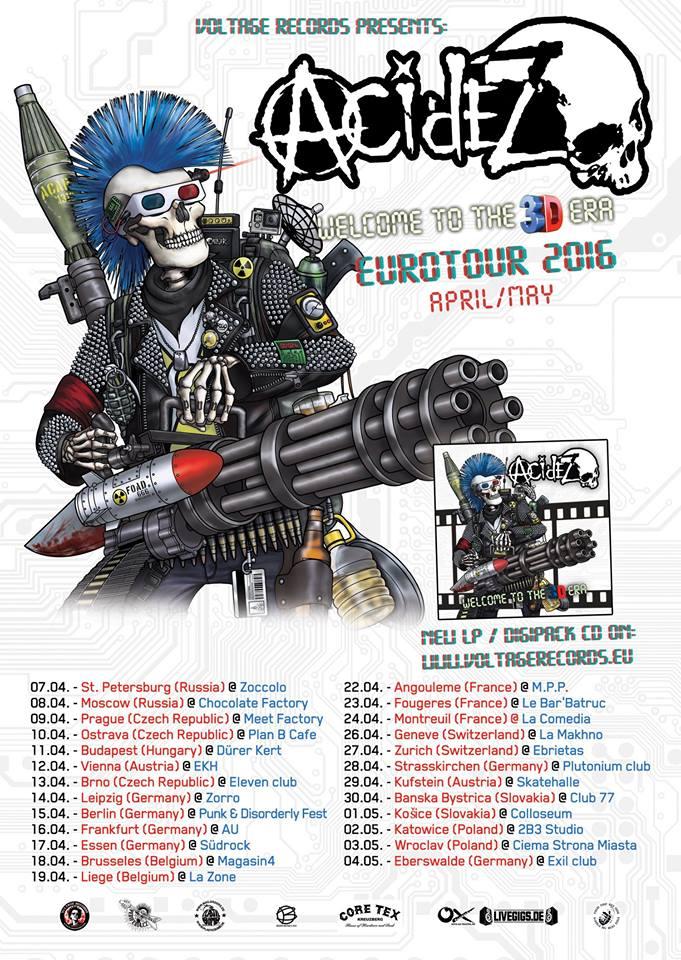 Acidez - Europa Tour 2016