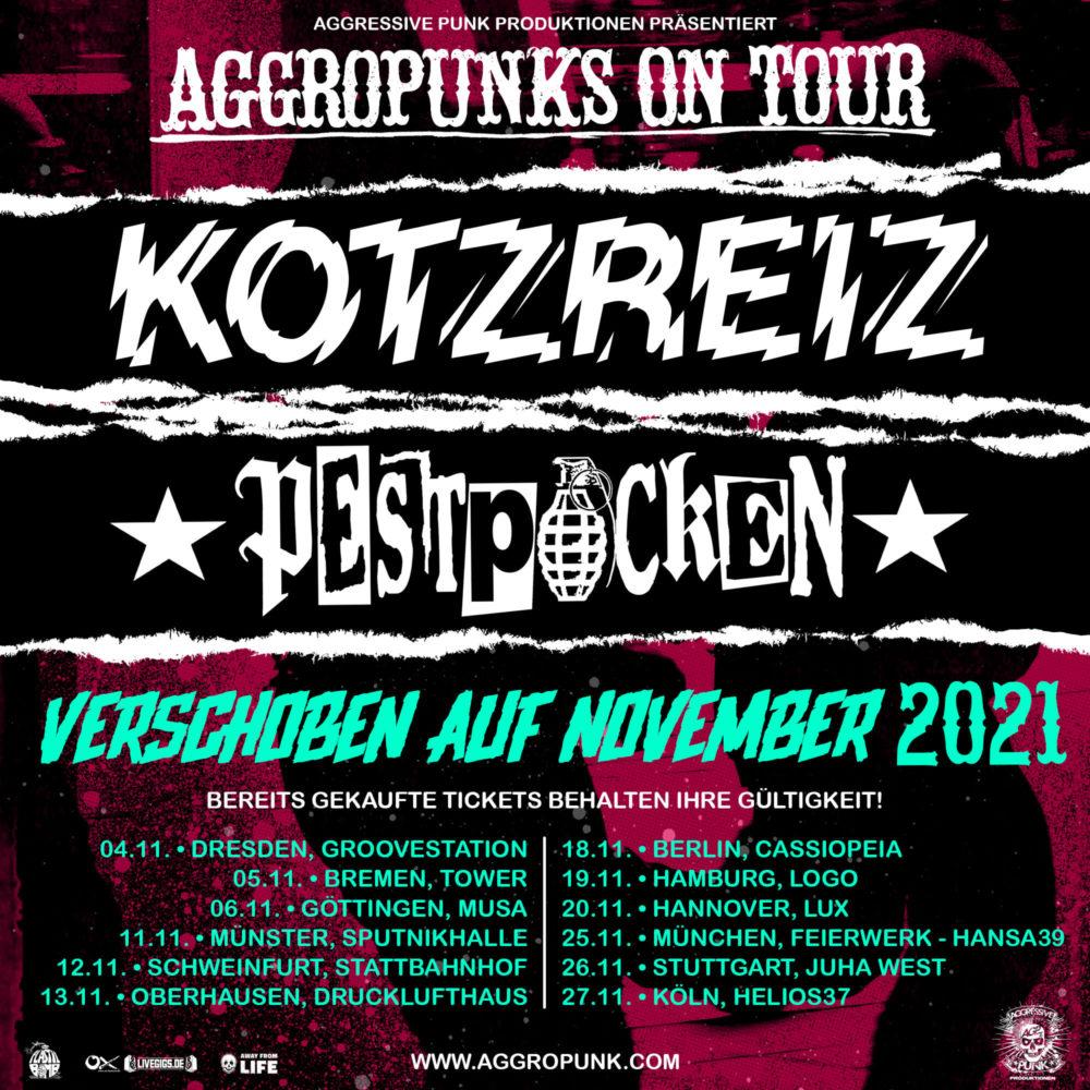 Aggropunks on Tour 2021