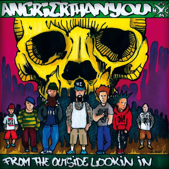 Cover des Debütalbums von Angrier Than You.