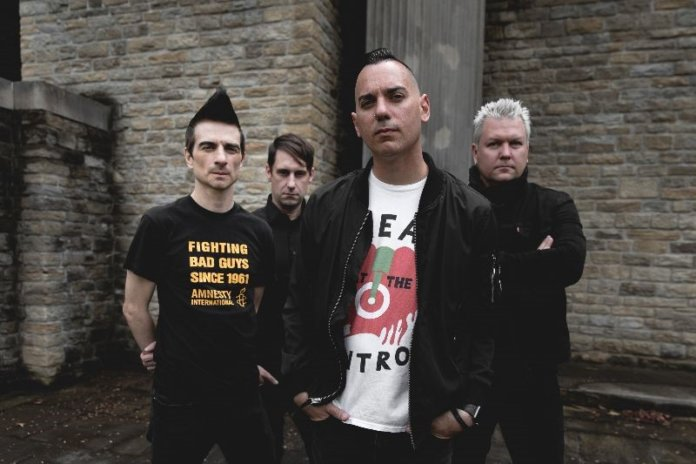 Anti-Flag (2019, Photo by Josh Massie)