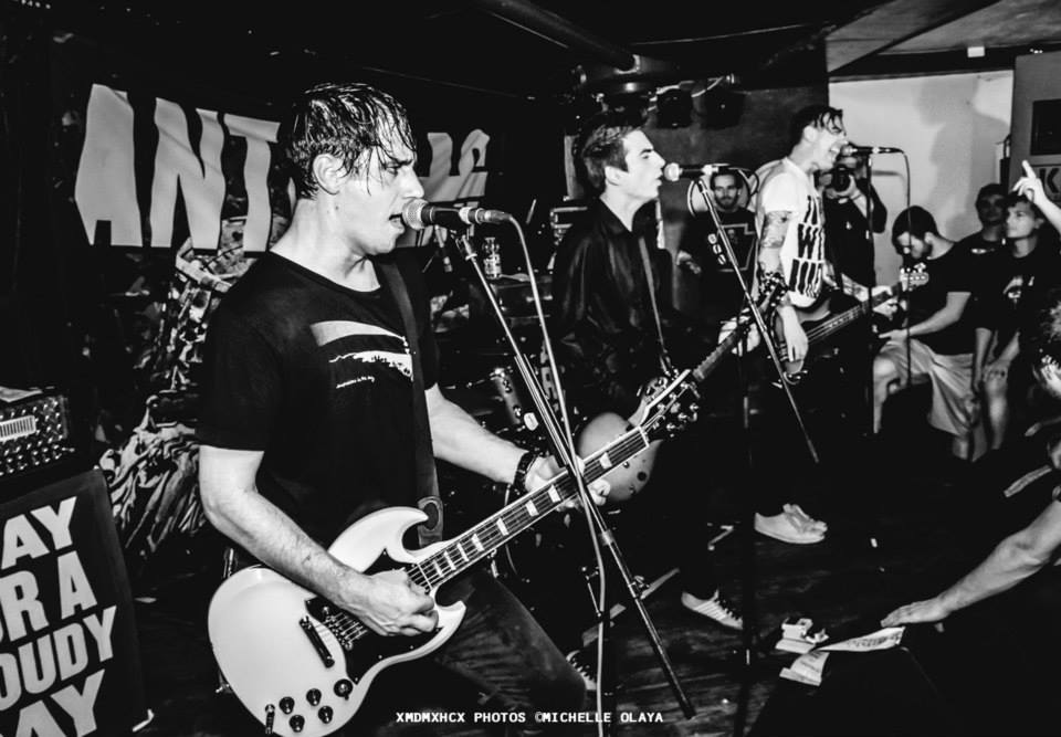 Anti-Flag (Photo by Michelle Olaya)