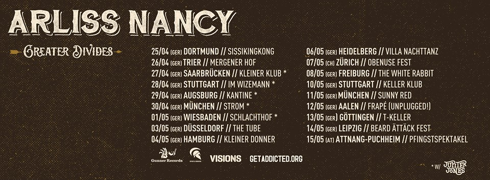 Arliss Nancy - Europa Tour