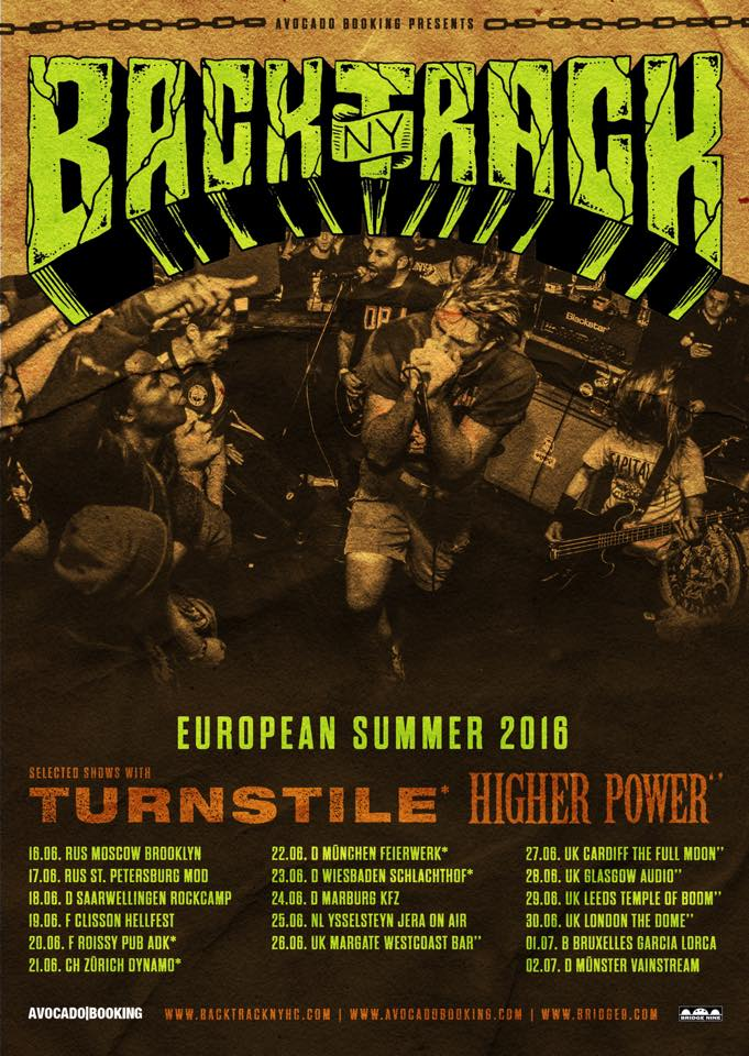 Backtrack - Europa Tour 2016