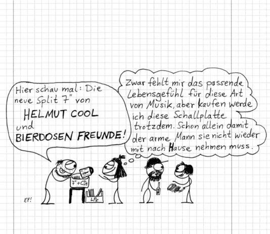 Split: Helmut Cool / Bierdosen Freunde (2019)