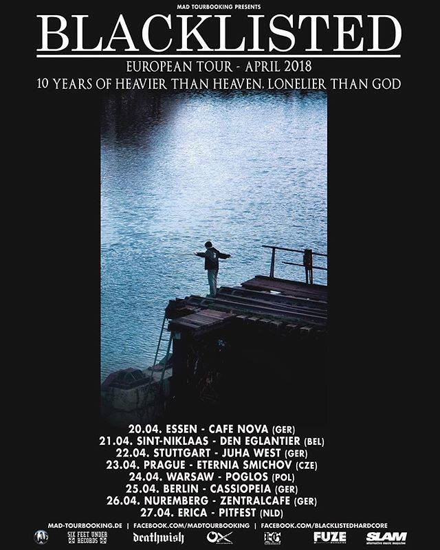 Blacklisted tour