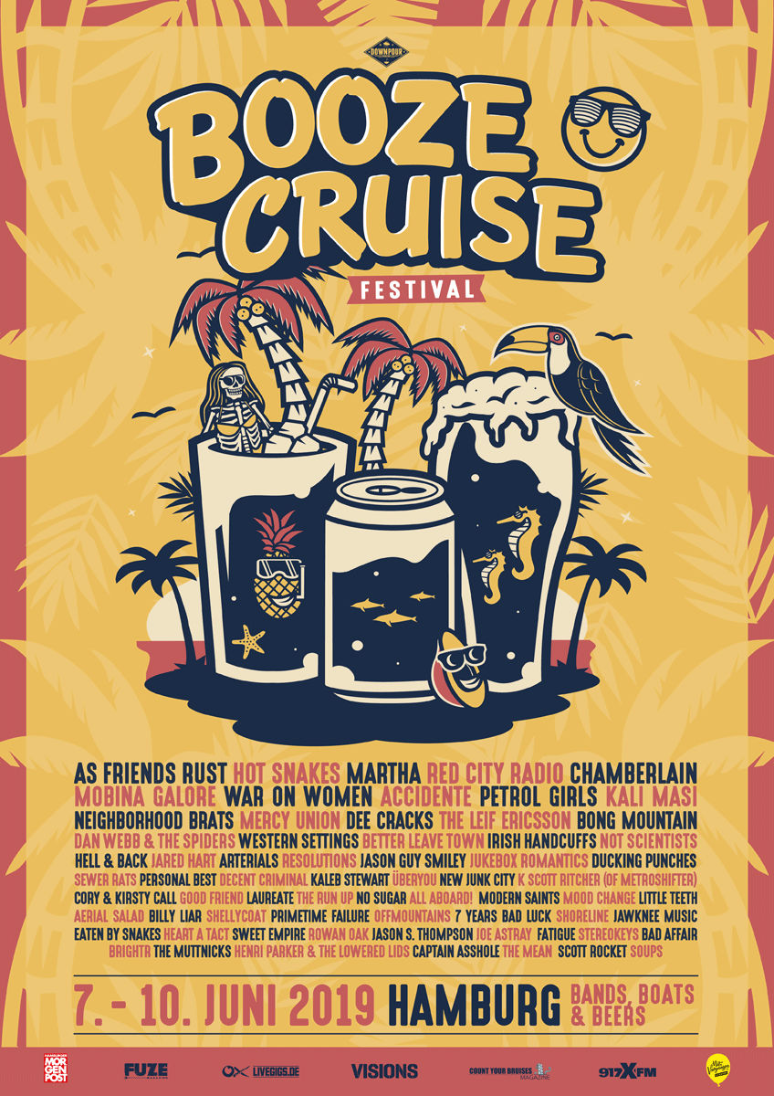 Booze Cruise Festival 2019 - Line-Up
