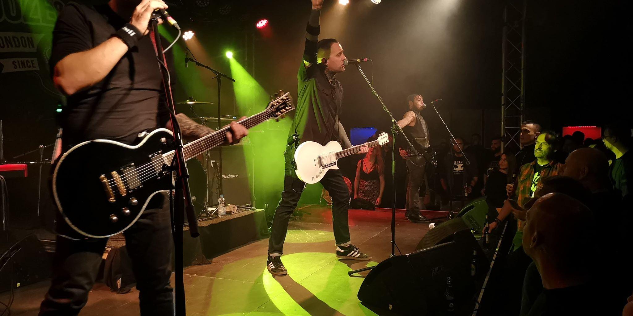 Booze & Glory am 07. November 2018 im Das Bett in Frankfurt