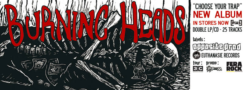 Erst im April 2015 haben Burning Heads ihr neues Album veröffentlicht. Dieses enthält geschlagene 25-Songs auf einer Doppel-LP!