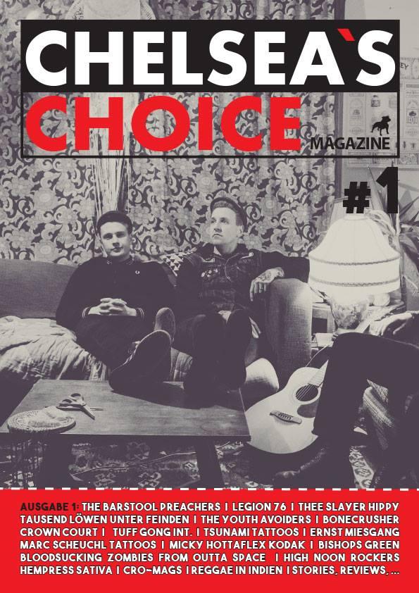 Chelsea's Choice Magazine - Fanzine 1