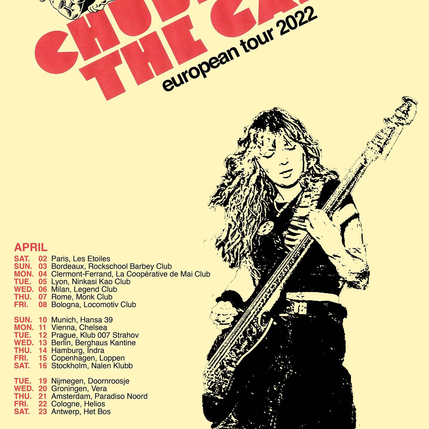 Chubby And The Gang - Europa-Tour 2022
