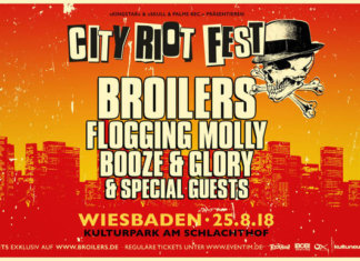 City Riot Festival 2018 - Broilers, Flogging Molly