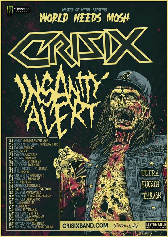 Crisix & Insanity Alert - Europa-Tour 2021