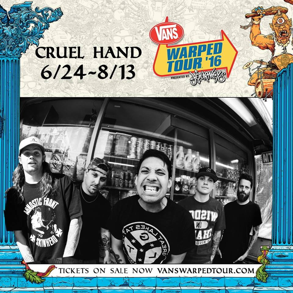 Cruel Hand - Vans Warped Tour