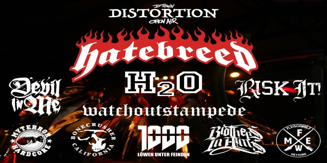 D-Town Distortion Open-Air 2020