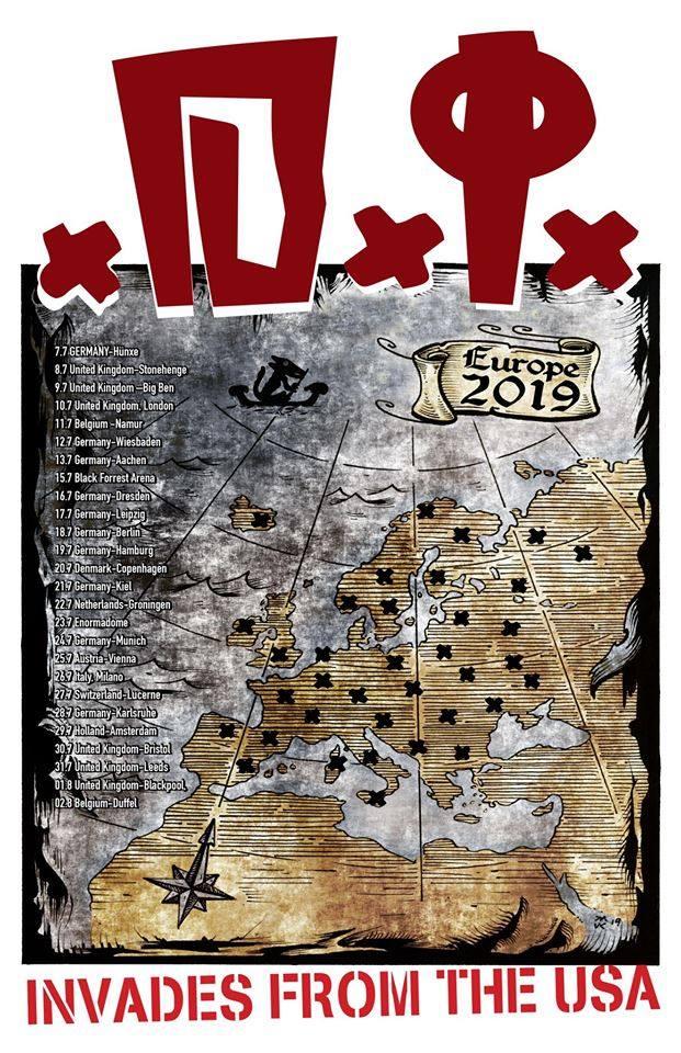 D.I. - Europa-Tour 2019