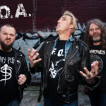 D.O.A. (Mike Hodsall, Joe Keithley, Paddy Duddy in 2015 Lower East Side Vancouver. Photo by Tom Wiebe)