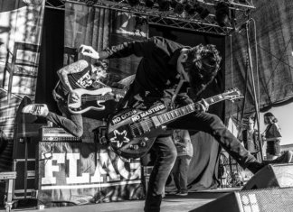 Anti Flag (Photo by Sandra of Hate Divides - Music Unites)