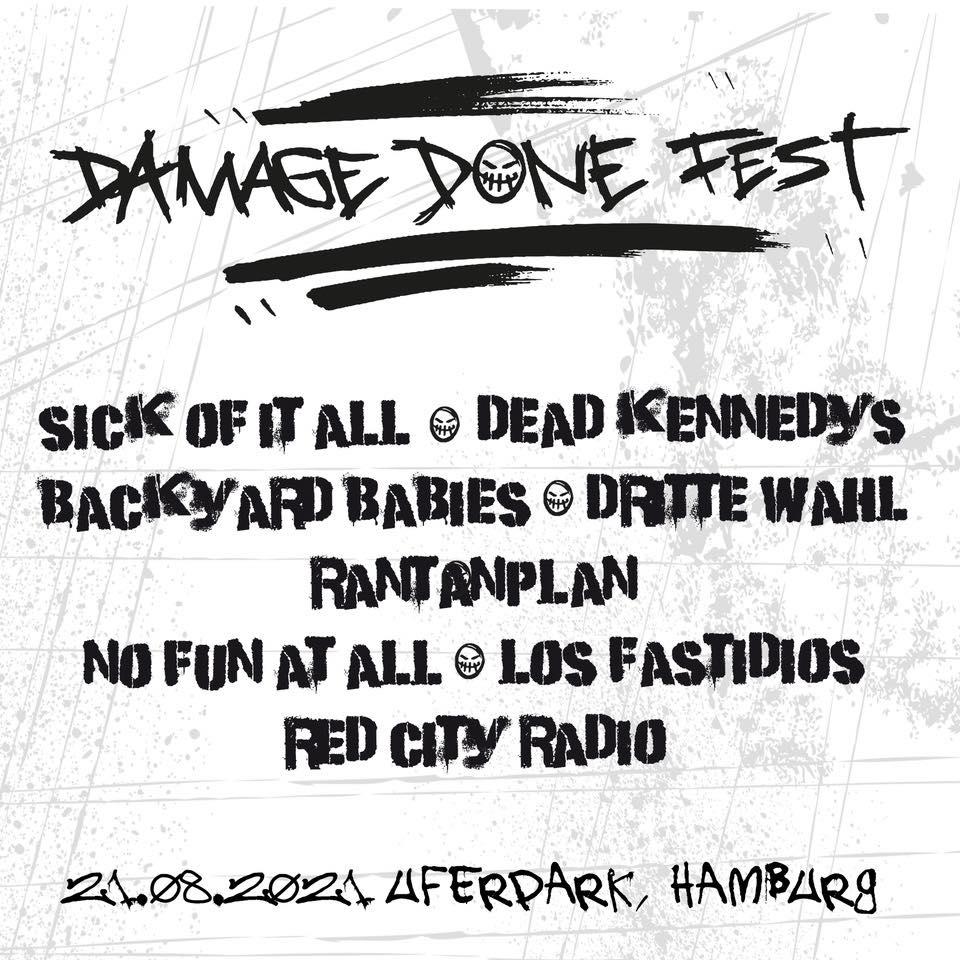 Damage Done Fest 2021 in Hamburg