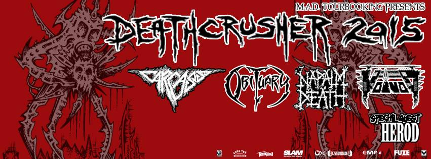 Deathcrusher Tour 2015