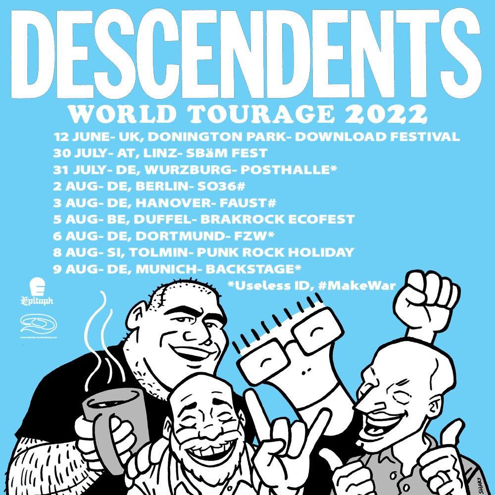 Descendents - Europa-Tour 2022