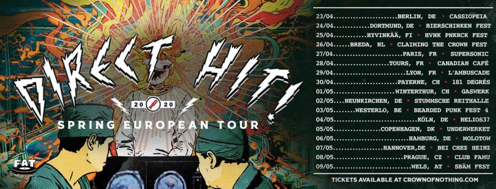 Direct Hit - Europa-Tour 2020