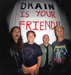 Drain (Photo Backcover of California Cursed)