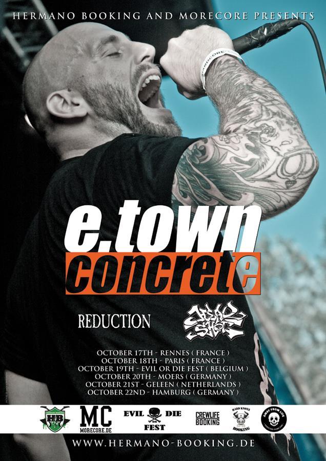 E.Town Concrete - Tour 2018