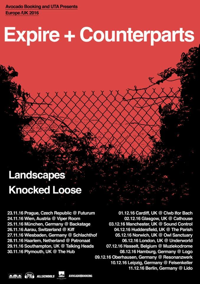 Expire - Europa Tour 2016