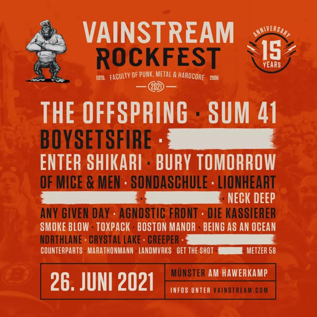 Vainstream Rockfest 2021