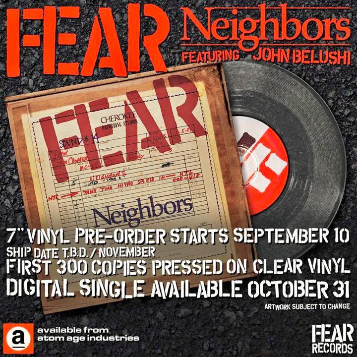 Fear - Neigbors - John Belushi