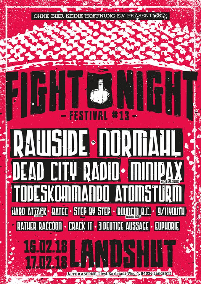 Fight Night 2018 in Landshut