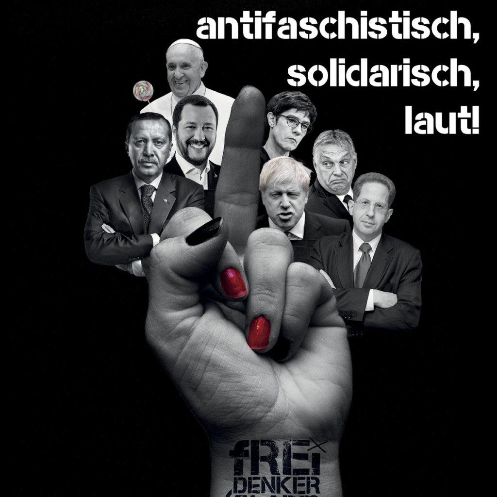 Freidenkeralarm - Antifaschistisch, solidarisch, laut! (2020)