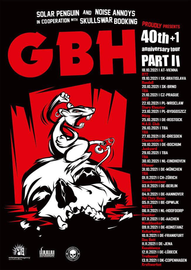 GBH - Europa-Tour 2021