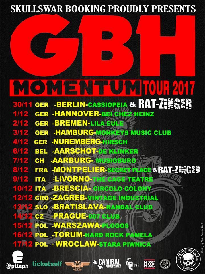 GBH - Tour 2017