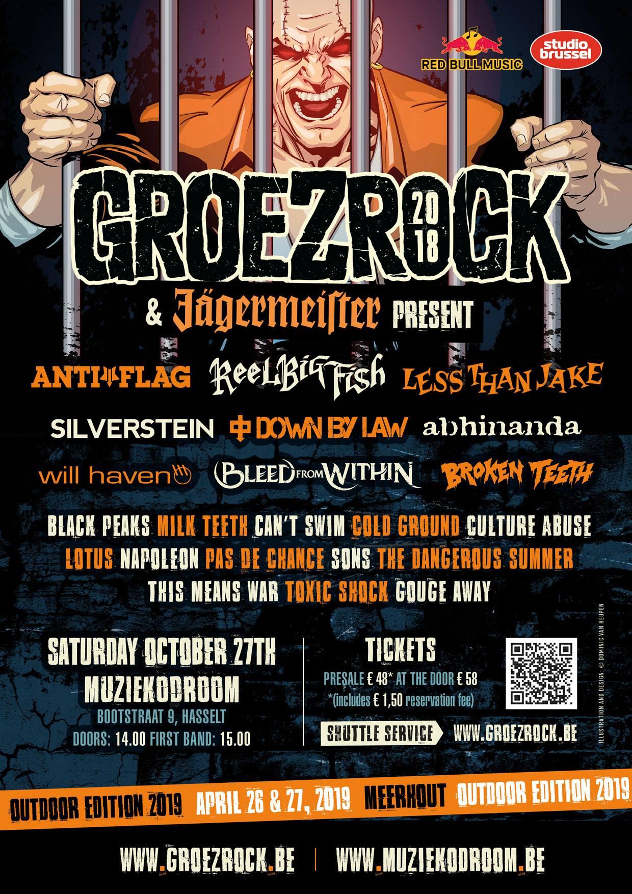 GROEZROCK 2018 Indoor-Festival