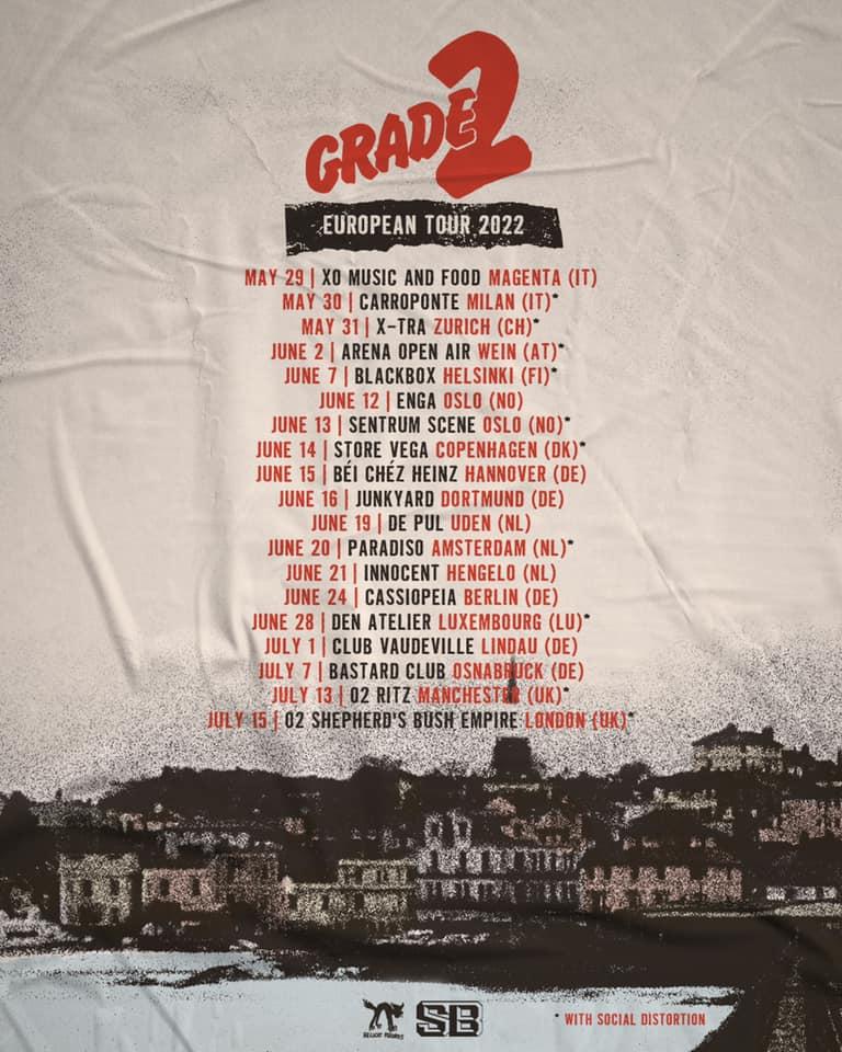 Grade 2 - Europa-Tour 2022