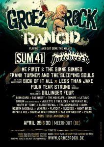Groezrock 2016 - First Bands